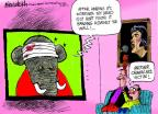 Mike Luckovich  Mike Luckovich's Editorial Cartoons 2014-02-28 Obamacare