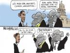 Mike Luckovich  Mike Luckovich's Editorial Cartoons 2014-03-13 dictator