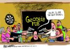 Mike Luckovich  Mike Luckovich's Editorial Cartoons 2014-03-27 concealed gun