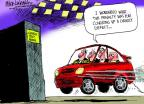 Mike Luckovich  Mike Luckovich's Editorial Cartoons 2014-04-06 automobile accident