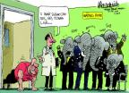 Mike Luckovich  Mike Luckovich's Editorial Cartoons 2014-04-18 Obamacare