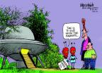 Mike Luckovich  Mike Luckovich's Editorial Cartoons 2014-04-27 democracy