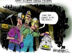 Mike Luckovich  Mike Luckovich's Editorial Cartoons 2014-05-07 climate change hoax