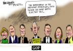 Mike Luckovich  Mike Luckovich's Editorial Cartoons 2014-05-14 congressional scandal