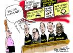 Mike Luckovich  Mike Luckovich's Editorial Cartoons 2014-07-09 Supreme Court
