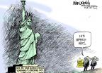 Mike Luckovich  Mike Luckovich's Editorial Cartoons 2014-07-10 migrant children