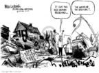 Mike Luckovich  Mike Luckovich's Editorial Cartoons 2005-12-07 Hurricane Katrina