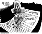Mike Luckovich  Mike Luckovich's Editorial Cartoons 2005-12-20 Constitution