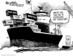 Mike Luckovich  Mike Luckovich's Editorial Cartoons 2006-02-26 Hurricane Katrina