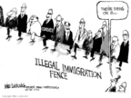 Mike Luckovich  Mike Luckovich's Editorial Cartoons 2006-04-11 fence