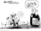 Mike Luckovich  Mike Luckovich's Editorial Cartoons 2006-06-30 fence