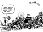 Mike Luckovich  Mike Luckovich's Editorial Cartoons 2006-08-25 Hurricane Katrina