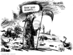 Mike Luckovich  Mike Luckovich's Editorial Cartoons 2006-09-22 grim reaper