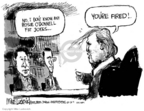 Mike Luckovich  Mike Luckovich's Editorial Cartoons 2007-01-12 feud