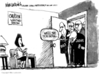 Mike Luckovich  Mike Luckovich's Editorial Cartoons 2007-04-19 supreme court decision