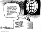 Mike Luckovich  Mike Luckovich's Editorial Cartoons 2007-05-04 conflict of interest