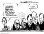 Mike Luckovich  Mike Luckovich's Editorial Cartoons 2007-06-03 majority