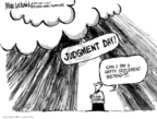 Mike Luckovich  Mike Luckovich's Editorial Cartoons 2007-07-18 judgment