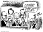 Mike Luckovich  Mike Luckovich's Editorial Cartoons 2008-01-27 Mike Huckabee