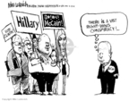 Mike Luckovich  Mike Luckovich's Editorial Cartoons 2008-02-13 2008 primary