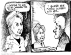 Mike Luckovich  Mike Luckovich's Editorial Cartoons 2008-05-23 Bill Clinton