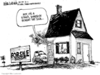 Mike Luckovich  Mike Luckovich's Editorial Cartoons 2008-08-01 house