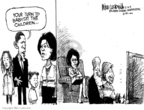 Mike Luckovich  Mike Luckovich's Editorial Cartoons 2008-08-26 Bill Clinton