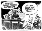 Mike Peters  Mike Peters' Editorial Cartoons 2003-01-09 economy