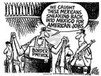 Mike Peters  Mike Peters' Editorial Cartoons 2004-01-16 illegal immigration
