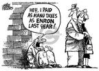Mike Peters  Mike Peters' Editorial Cartoons 2002-01-23 accounting audit
