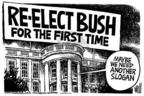 Mike Peters  Mike Peters' Editorial Cartoons 2004-02-19 democracy
