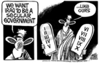 Mike Peters  Mike Peters' Editorial Cartoons 2005-03-04 democracy
