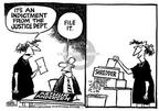 Mike Peters  Mike Peters' Editorial Cartoons 2002-03-17 accounting audit
