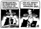 Mike Peters  Mike Peters' Editorial Cartoons 2005-07-17 racism
