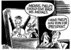 Mike Peters  Mike Peters' Editorial Cartoons 2004-08-20 2004 Olympics