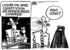 Mike Peters  Mike Peters' Editorial Cartoons 2005-08-26 democracy