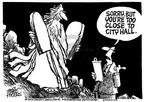 Mike Peters  Mike Peters' Editorial Cartoons 2003-09-04 church state
