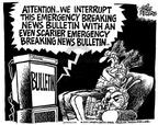 Mike Peters  Mike Peters' Editorial Cartoons 2001-10-18 journalism