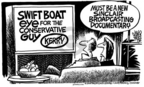 Mike Peters  Mike Peters' Editorial Cartoons 2004-10-21 2004 election