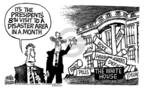 Mike Peters  Mike Peters' Editorial Cartoons 2005-10-13 conflict of interest