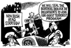 Mike Peters  Mike Peters' Editorial Cartoons 2005-12-02 exit strategy