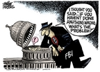 Mike Peters  Mike Peters' Editorial Cartoons 2006-05-27 FBI
