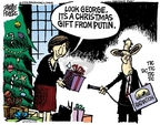 Mike Peters  Mike Peters' Editorial Cartoons 2006-12-04 Christmas