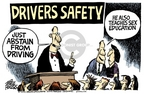 Mike Peters  Mike Peters' Editorial Cartoons 2007-01-01 automobile accident