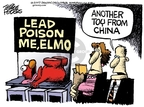 Mike Peters  Mike Peters' Editorial Cartoons 2007-08-04 Chinese export