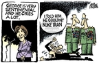 Mike Peters  Mike Peters' Editorial Cartoons 2007-09-06 Iran