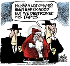 Mike Peters  Mike Peters' Editorial Cartoons 2007-12-08 claus