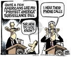 Mike Peters  Mike Peters' Editorial Cartoons 2008-02-18 phone call