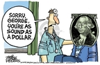 Mike Peters  Mike Peters' Editorial Cartoons 2008-07-04 dollar