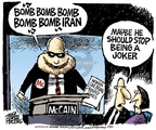 Mike Peters  Mike Peters' Editorial Cartoons 2008-07-18 Iran